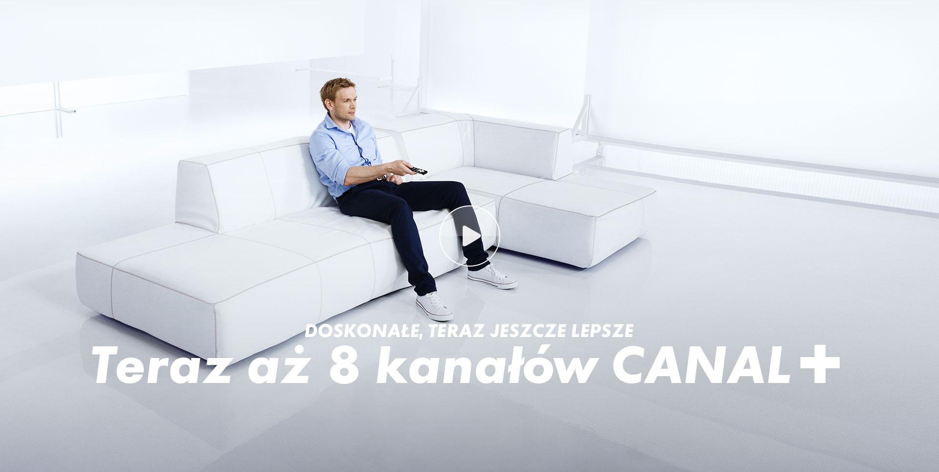Canal+ Teraz 8 kanałów